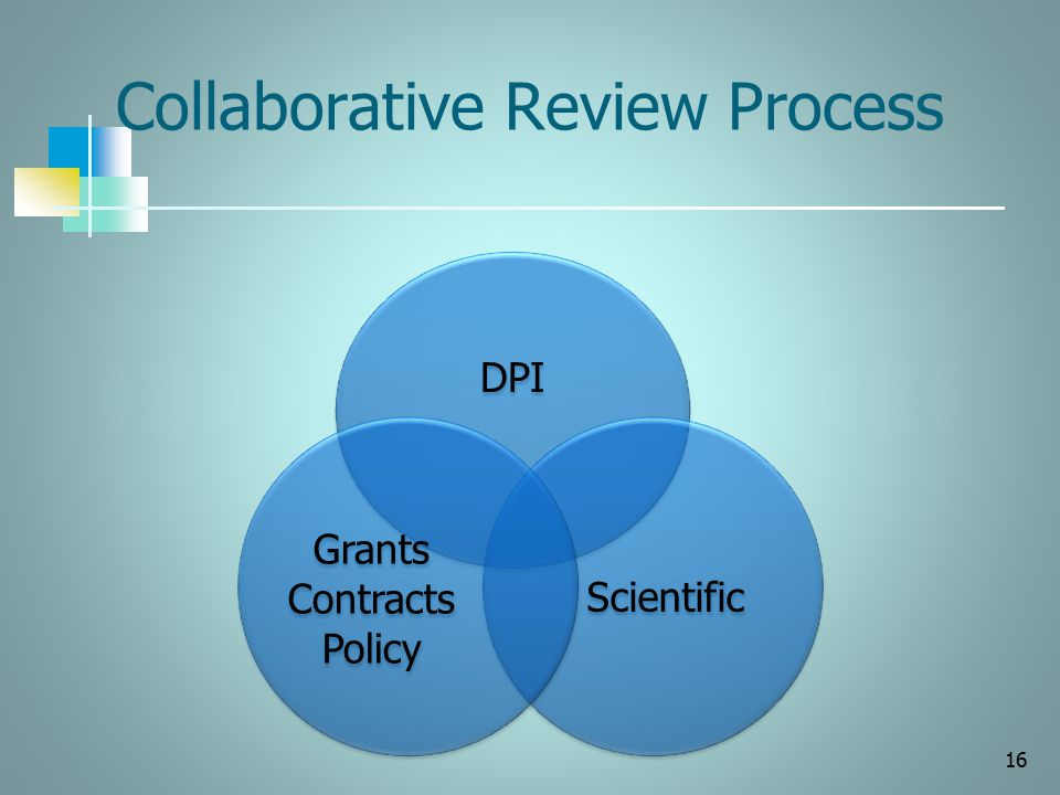 Collaborative Review Process