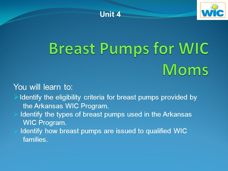 Breast Pumps for WIC Moms
