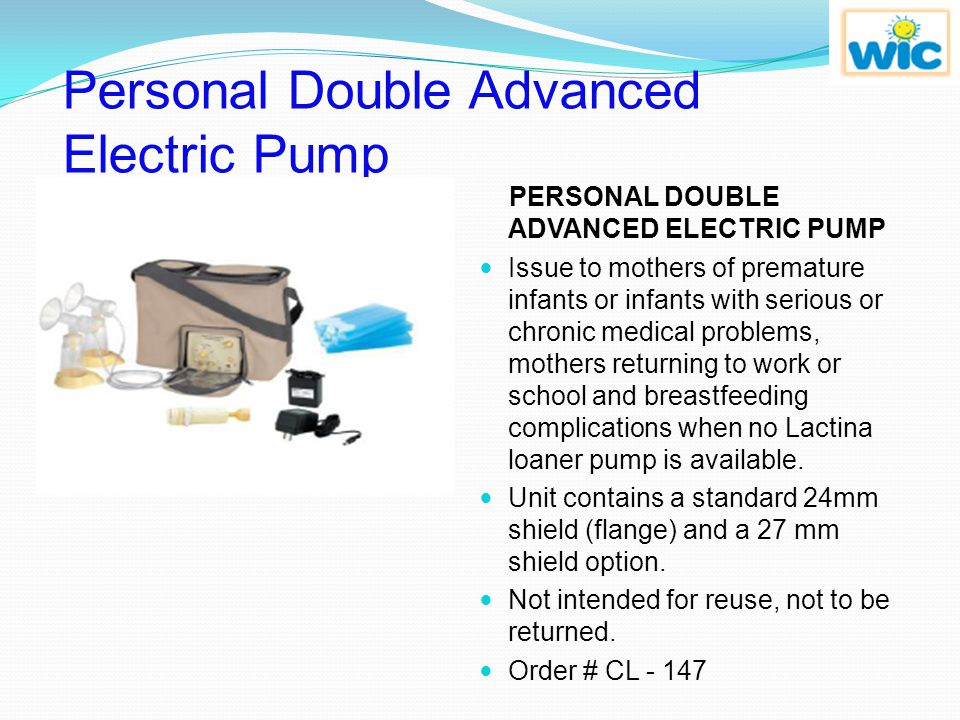 Personal Double Advanced Electric Pump