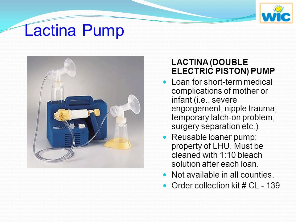 Lactina Pump LACTINA (DOUBLE ELECTRIC PISTON) PUMP.