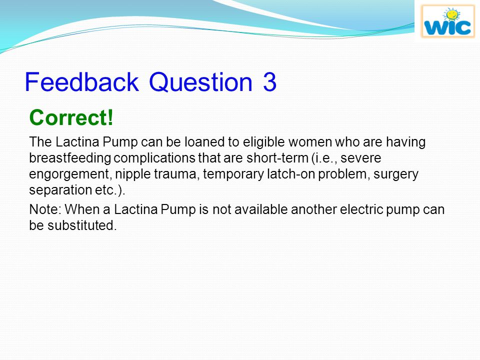 Feedback Question 3 Correct!