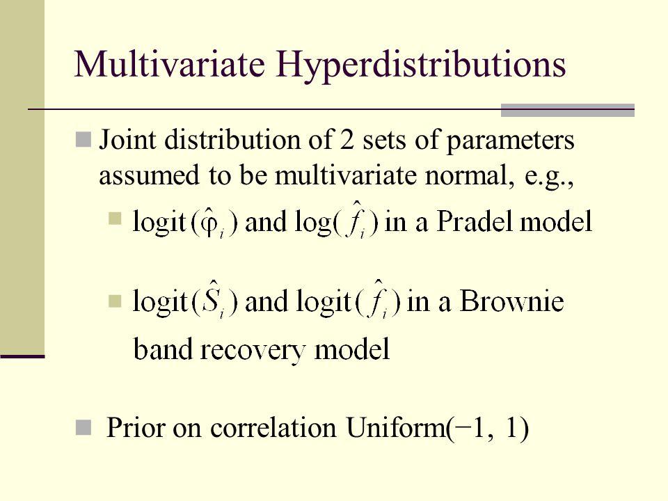 Multivariate Hyperdistributions