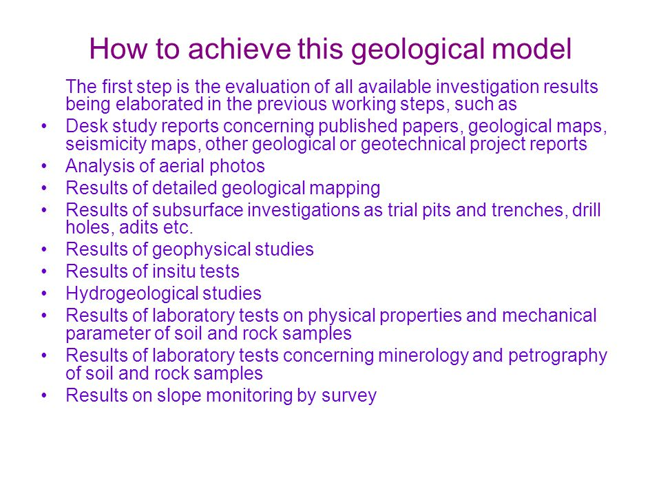 How to achieve this geological model