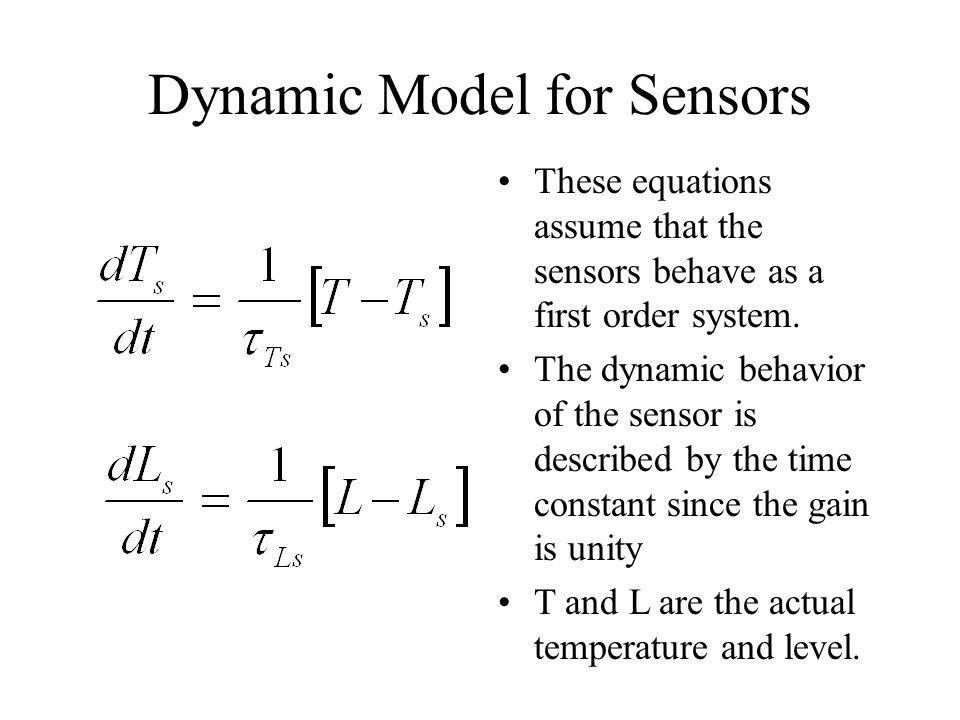 Dynamic Model for Sensors