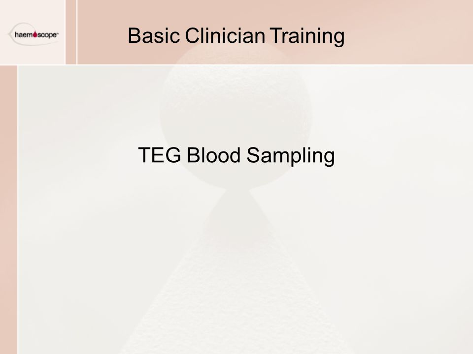Basic Clinician Training