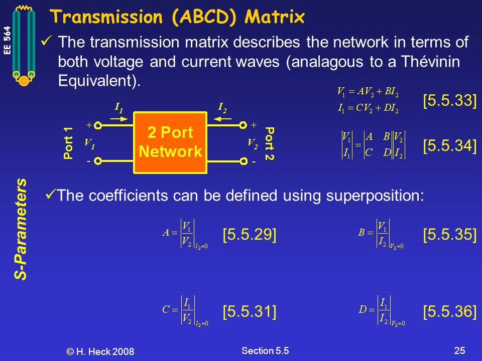 Transmission (ABCD) Matrix