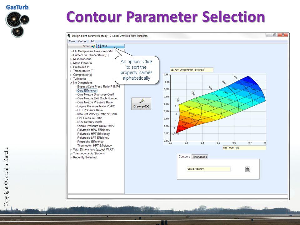 Contour Parameter Selection