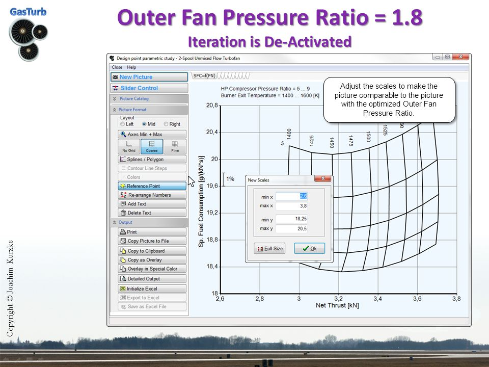 Outer Fan Pressure Ratio = 1.8 Iteration is De-Activated