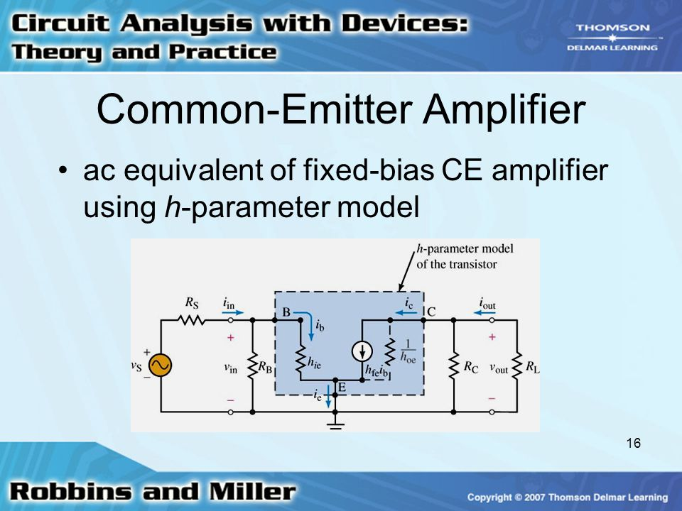 Common-Emitter Amplifier