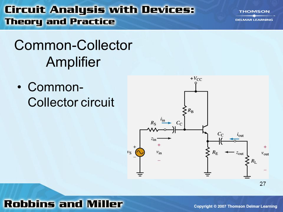 Common-Collector Amplifier