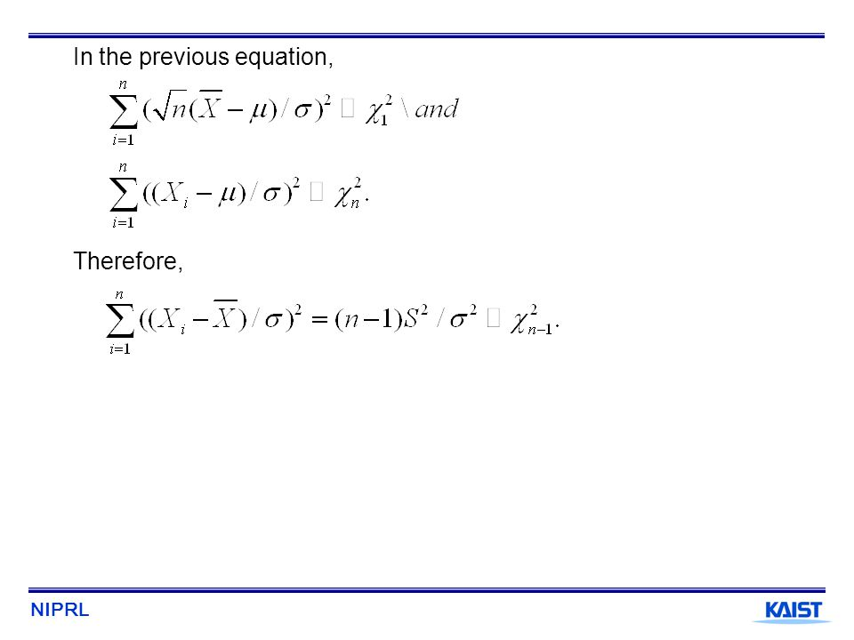 In the previous equation,