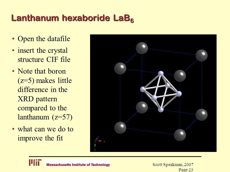 Lanthanum hexaboride LaB6