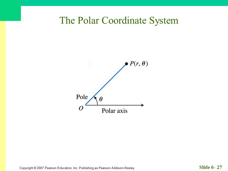 The Polar Coordinate System