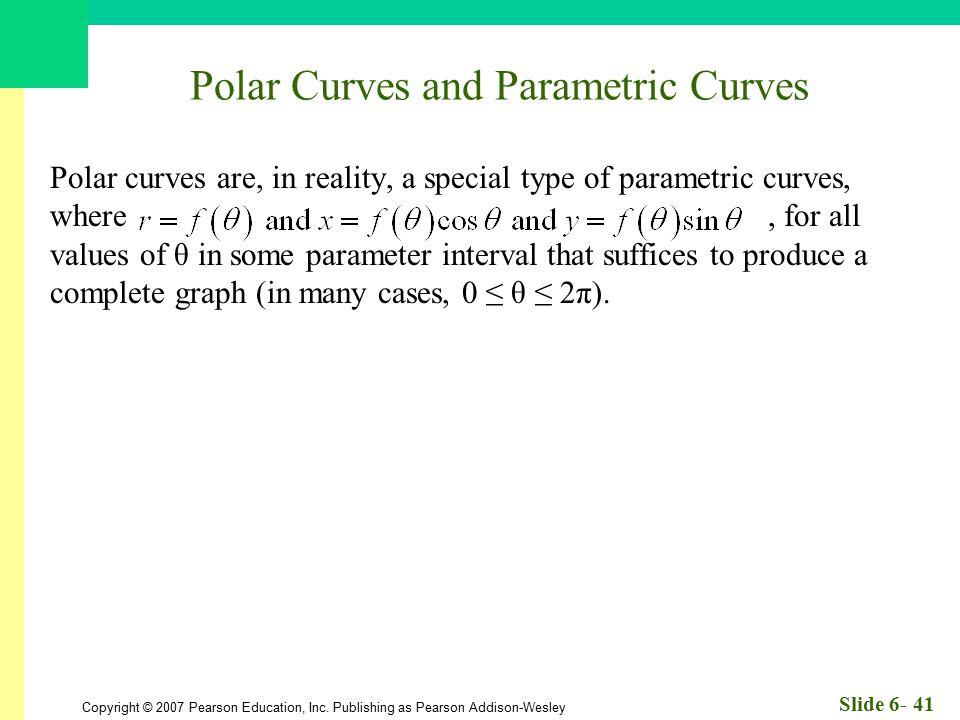 Polar Curves and Parametric Curves