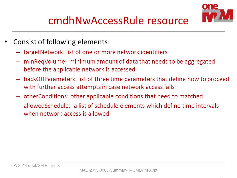 cmdhNwAccessRule resource