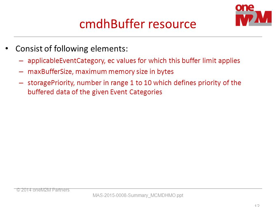 cmdhBuffer resource Consist of following elements: