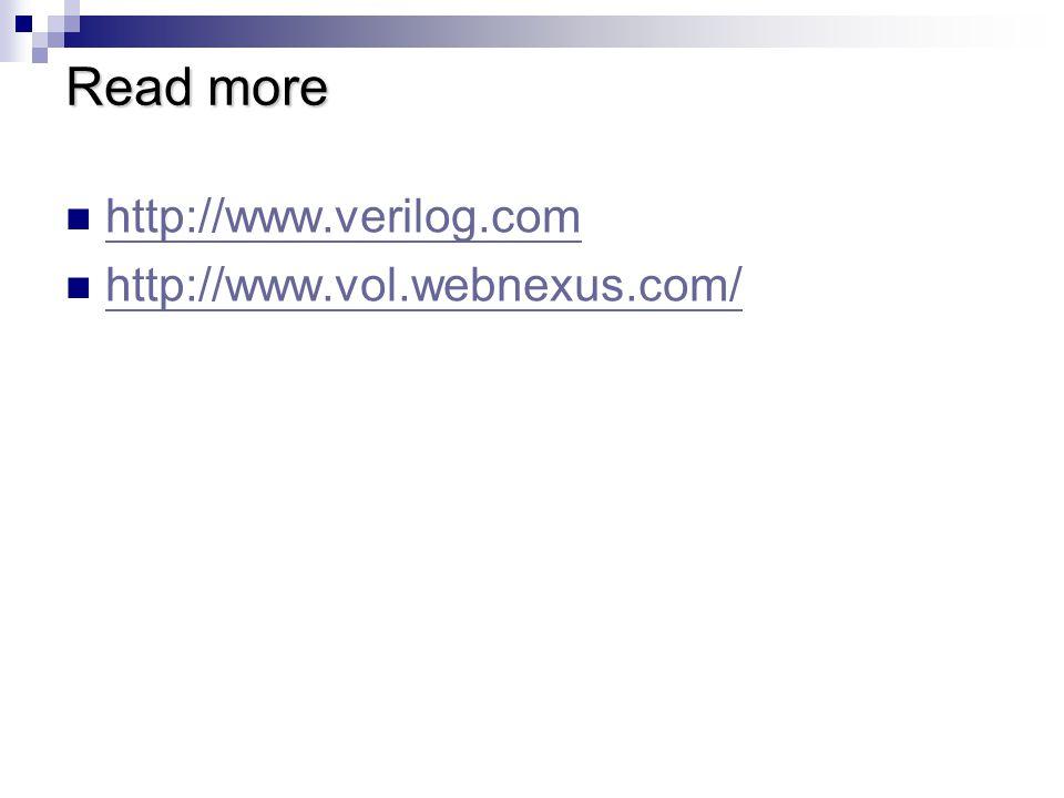 Read more http://www.verilog.com http://www.vol.webnexus.com/