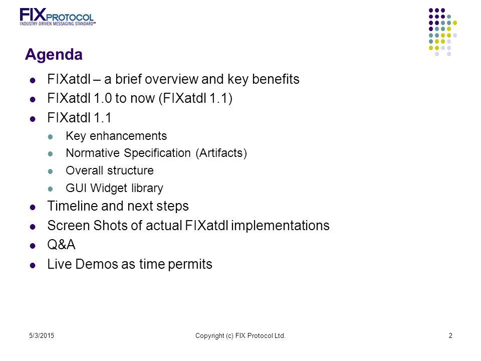 Copyright (c) FIX Protocol Ltd.