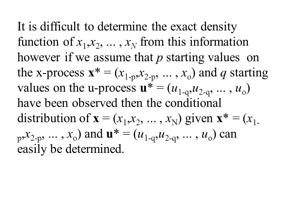 It is difficult to determine the exact density function of x1,x2,