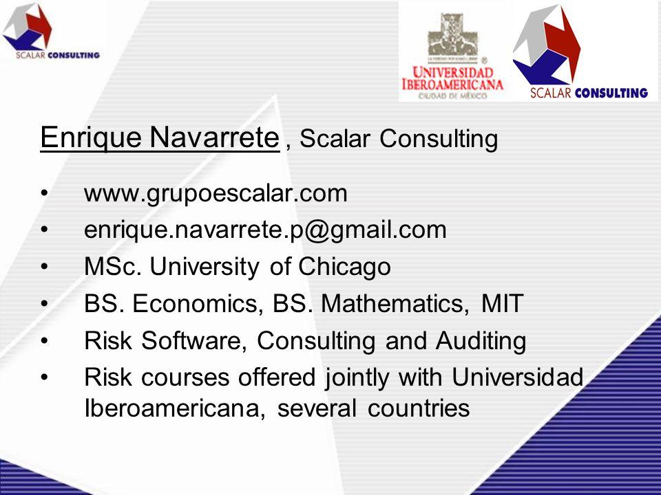 Enrique Navarrete , Scalar Consulting