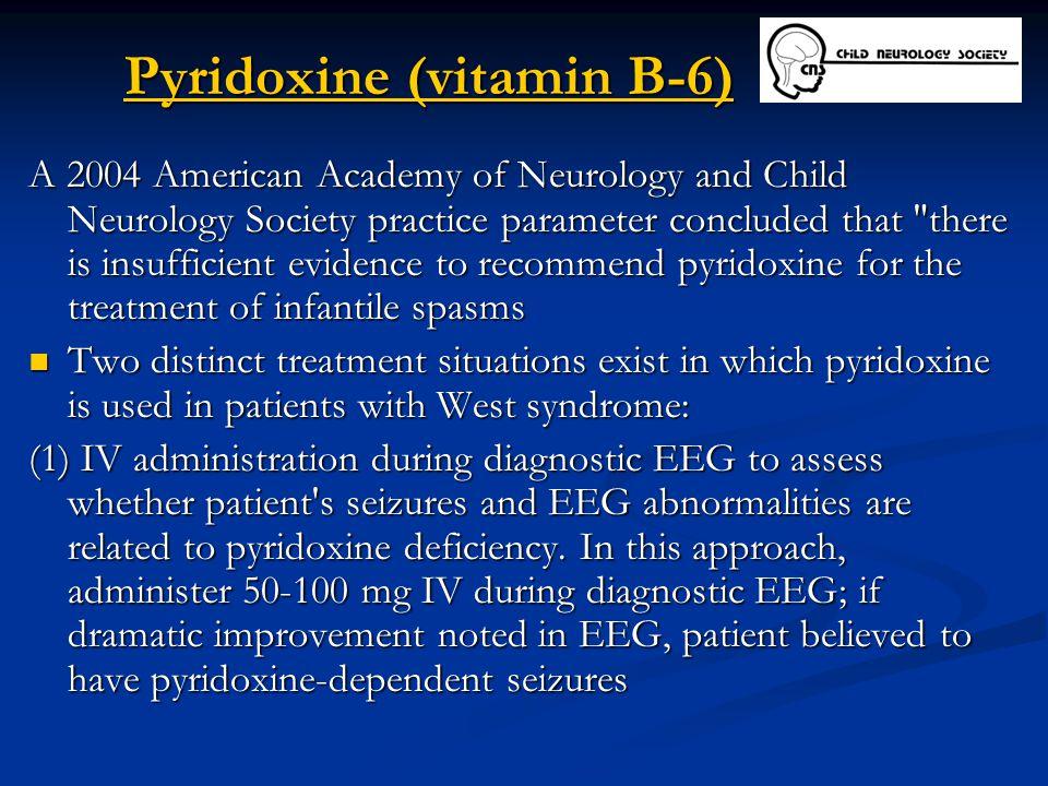Pyridoxine (vitamin B-6)