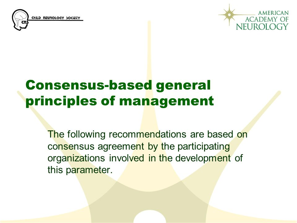 Consensus-based general principles of management