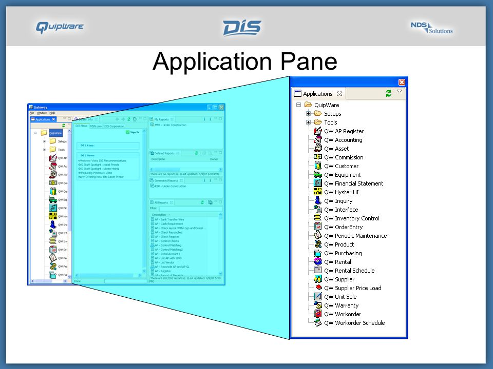 Application Pane