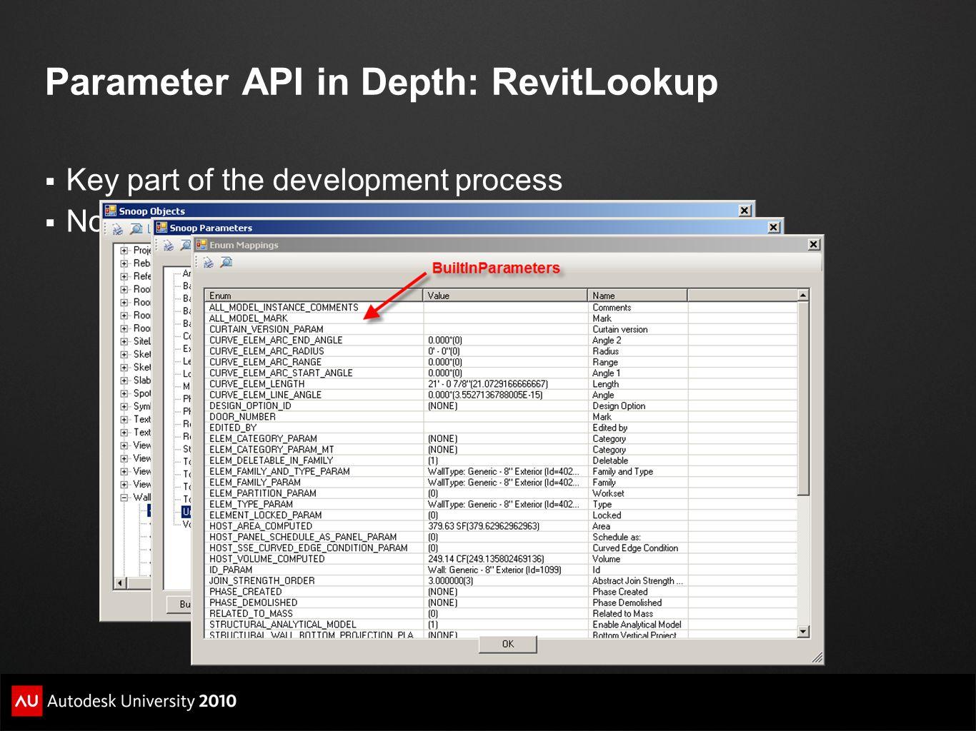 Parameter API in Depth: RevitLookup