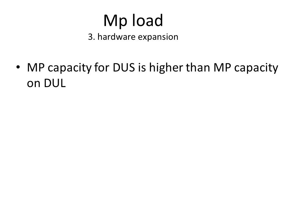 Mp load 3. hardware expansion