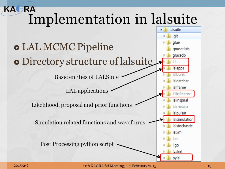 Implementation in lalsuite