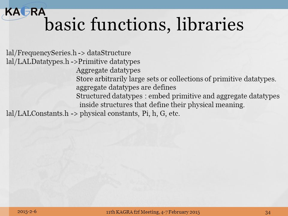basic functions, libraries