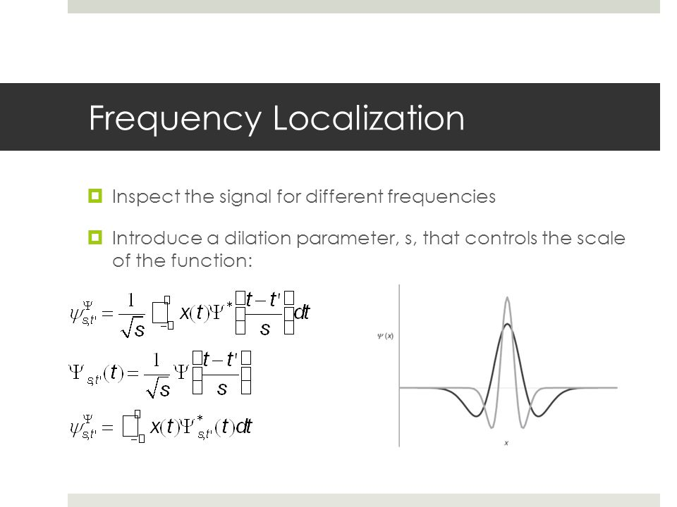 Frequency Localization
