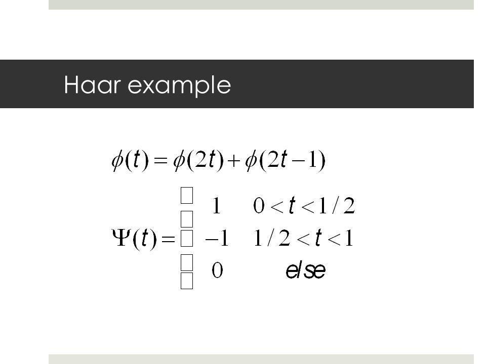 Haar example