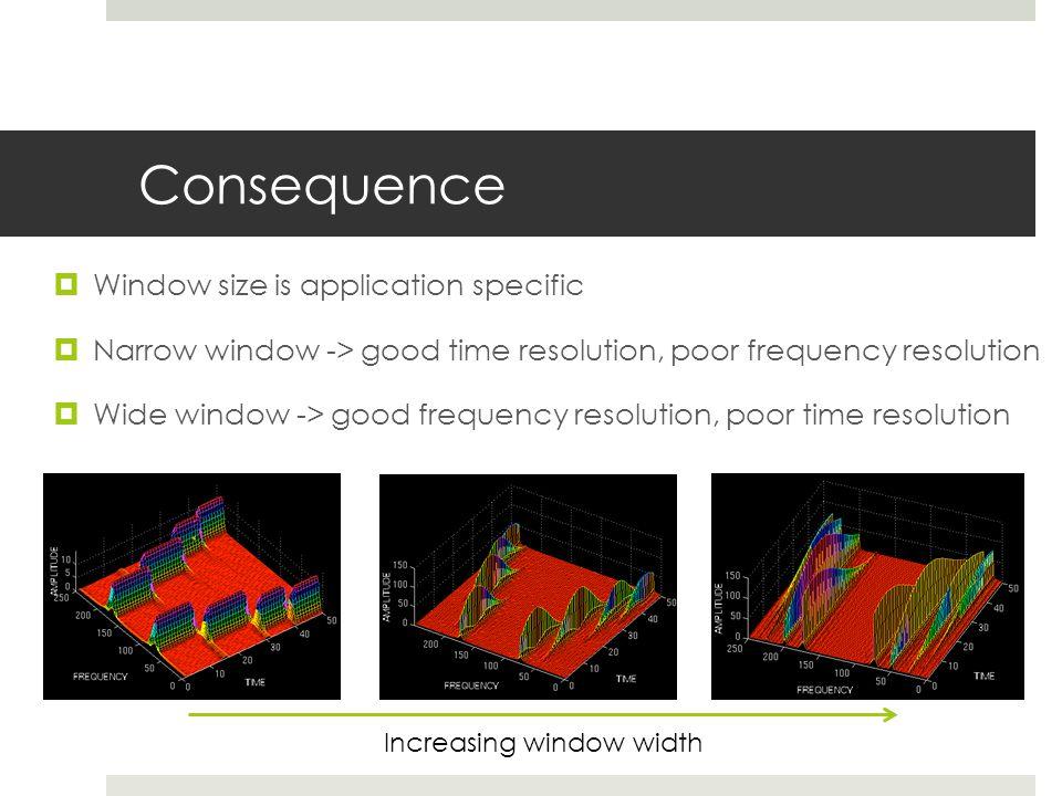 Increasing window width
