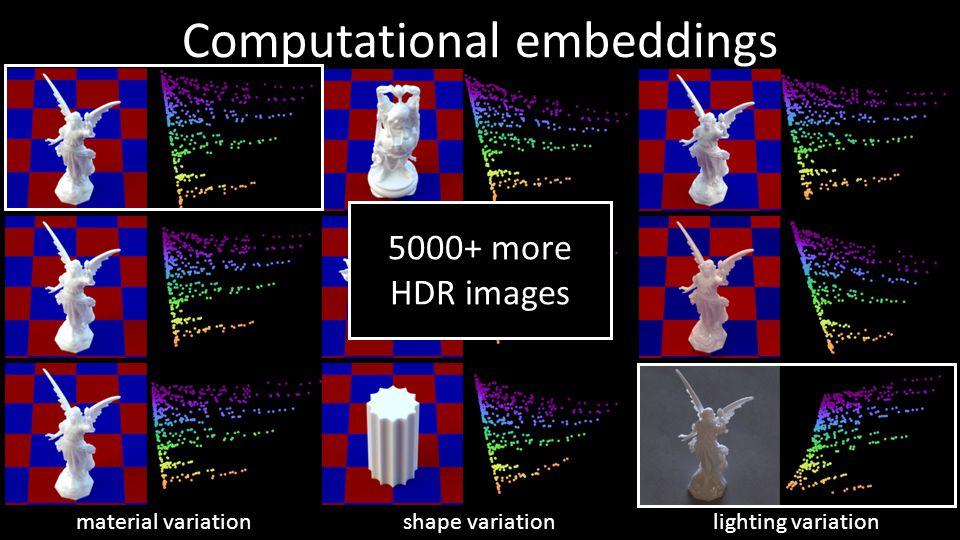Computational embeddings