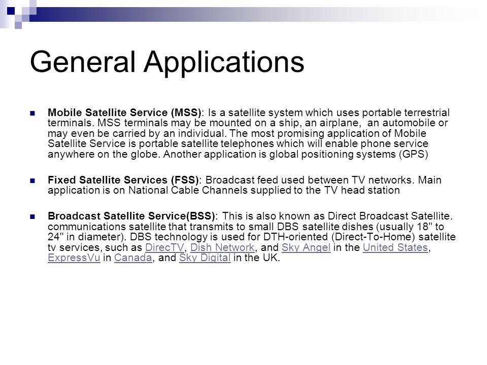 General Applications
