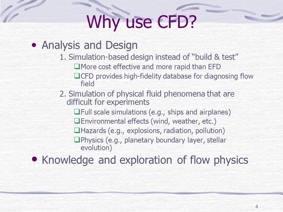 Why use CFD Analysis and Design