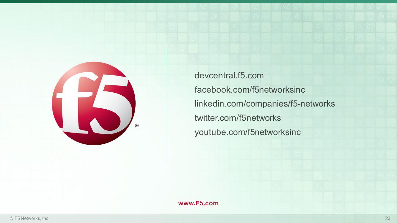 www.F5.com