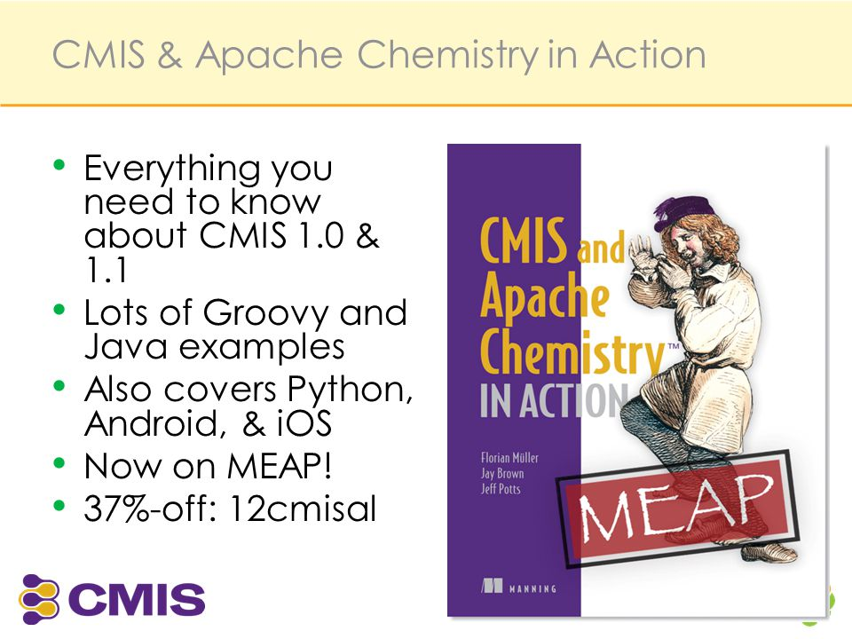 CMIS & Apache Chemistry in Action