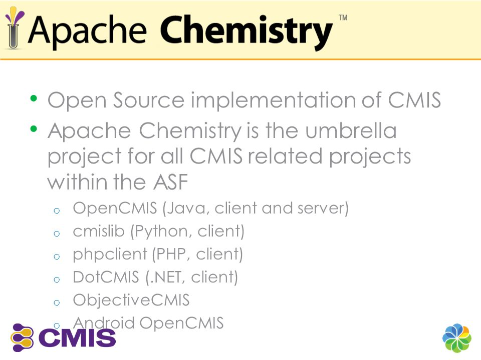 Open Source implementation of CMIS