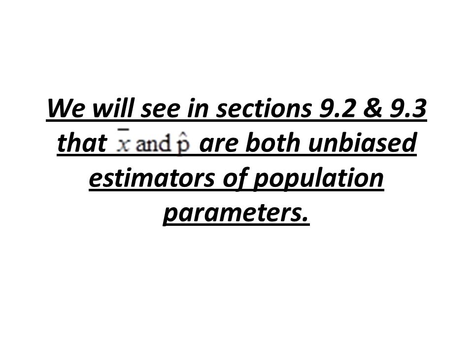 We will see in sections 9. 2 & 9