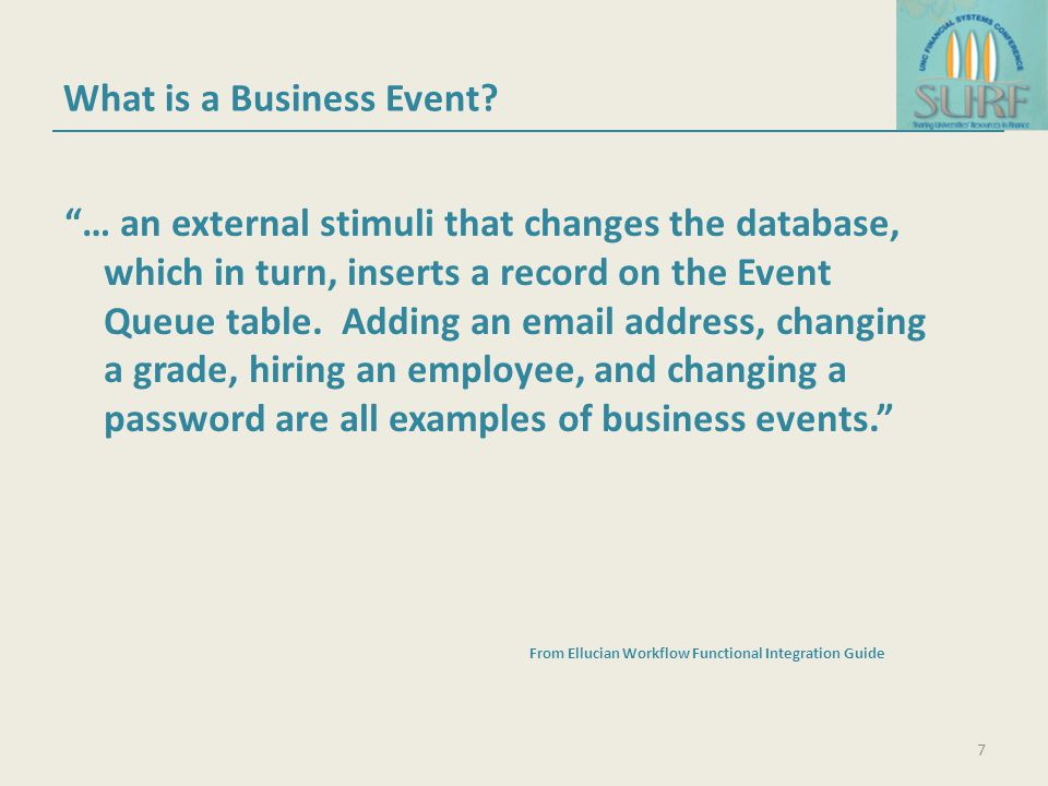What is a Business Event