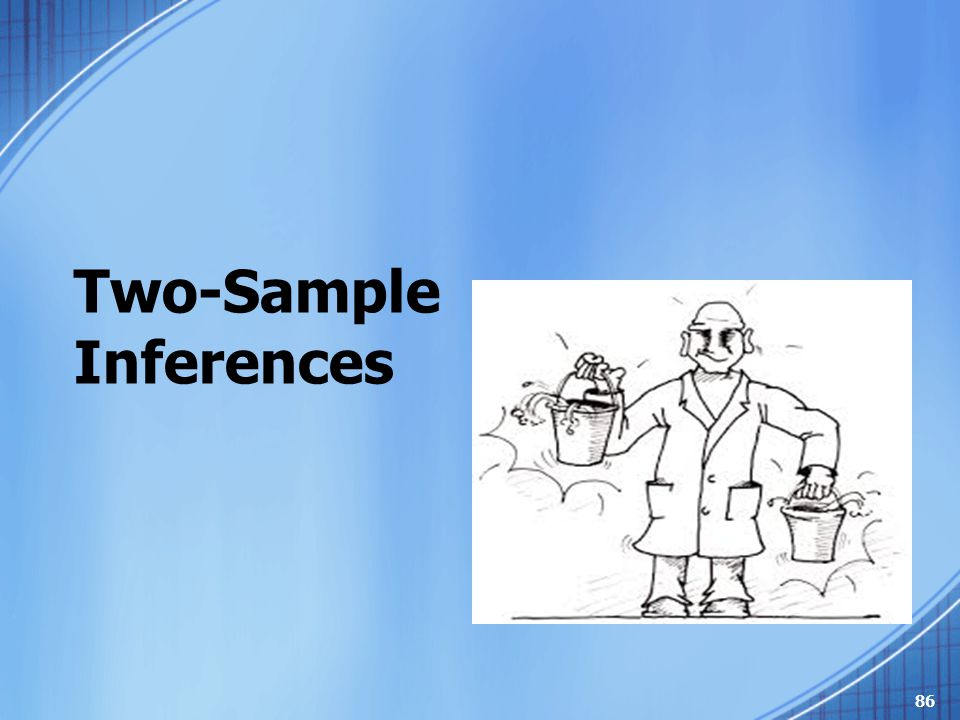 Two-Sample Inferences