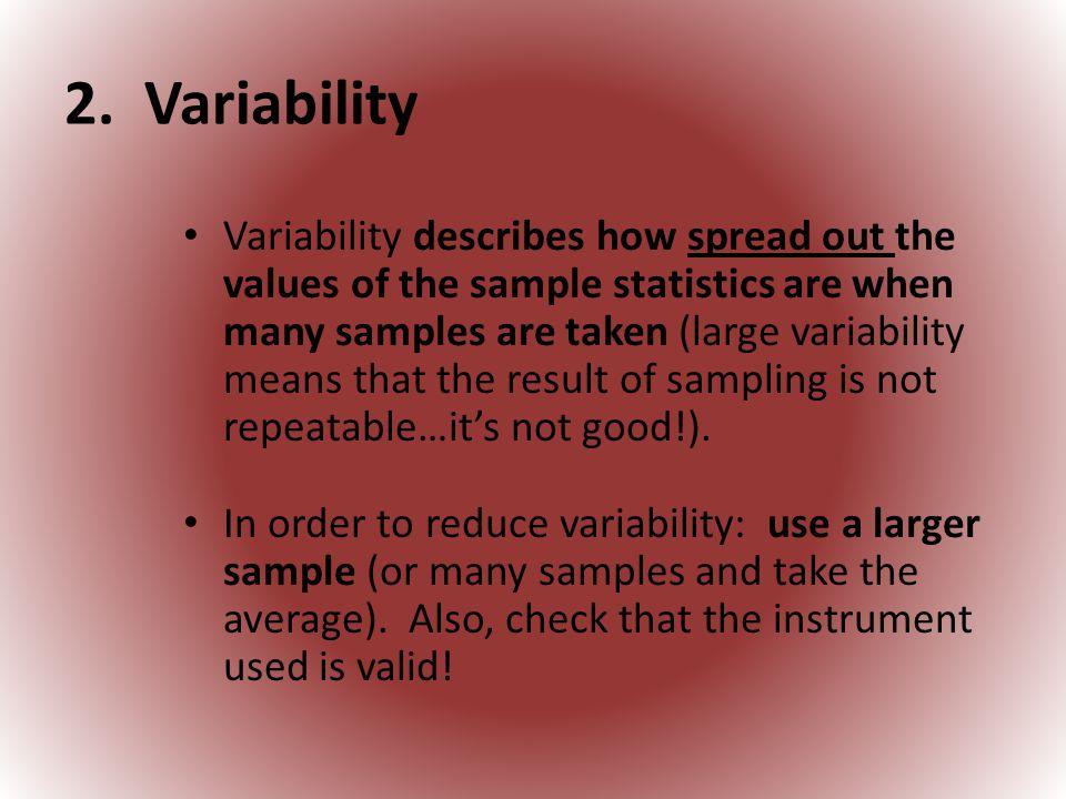 2. Variability