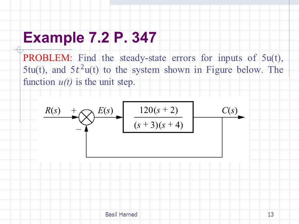 Example 7.2 P. 347