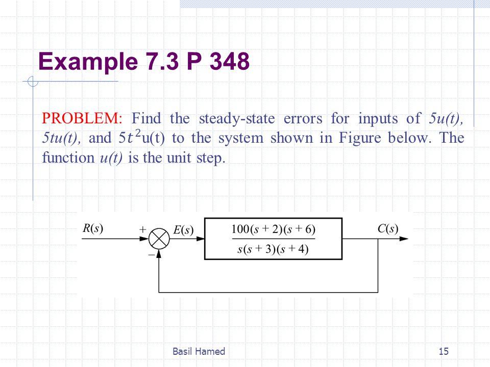 Example 7.3 P 348
