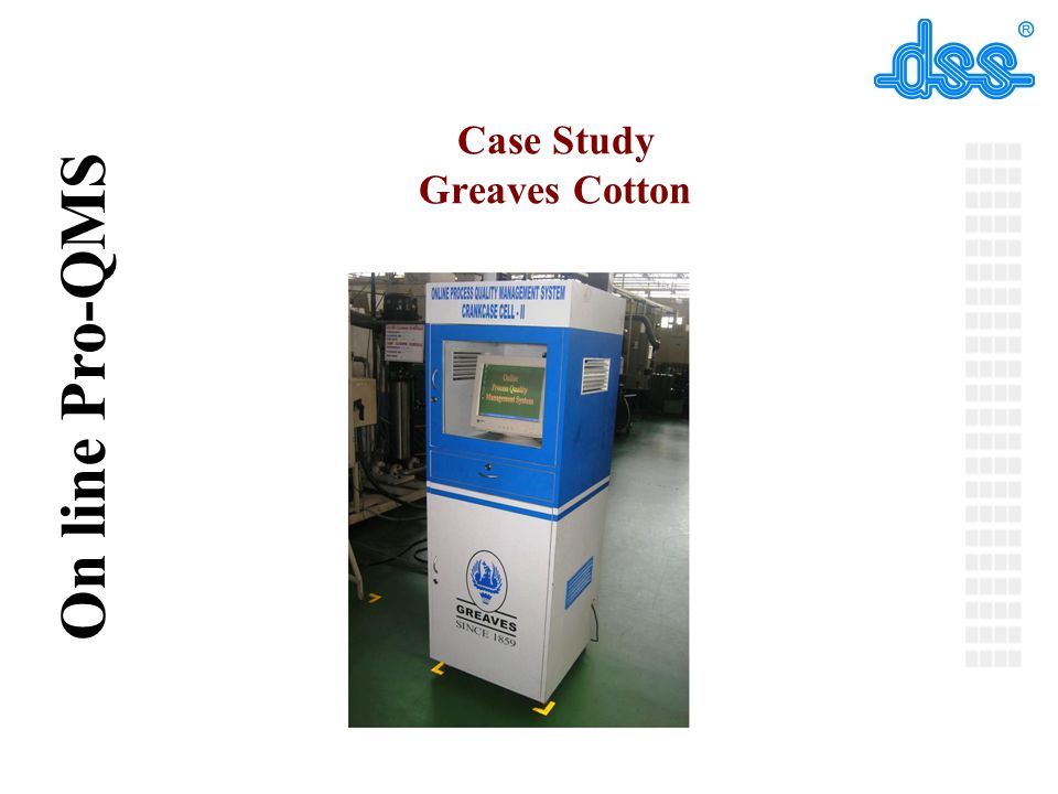 Case Study Greaves Cotton