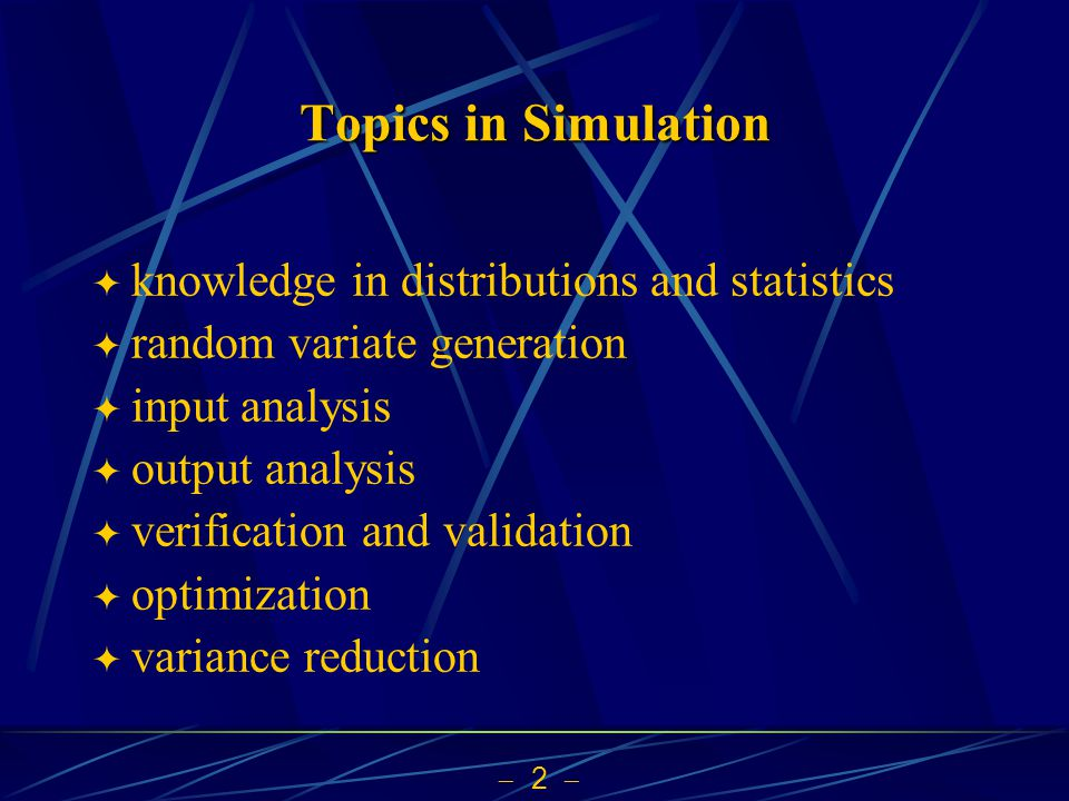 Topics in Simulation knowledge in distributions and statistics