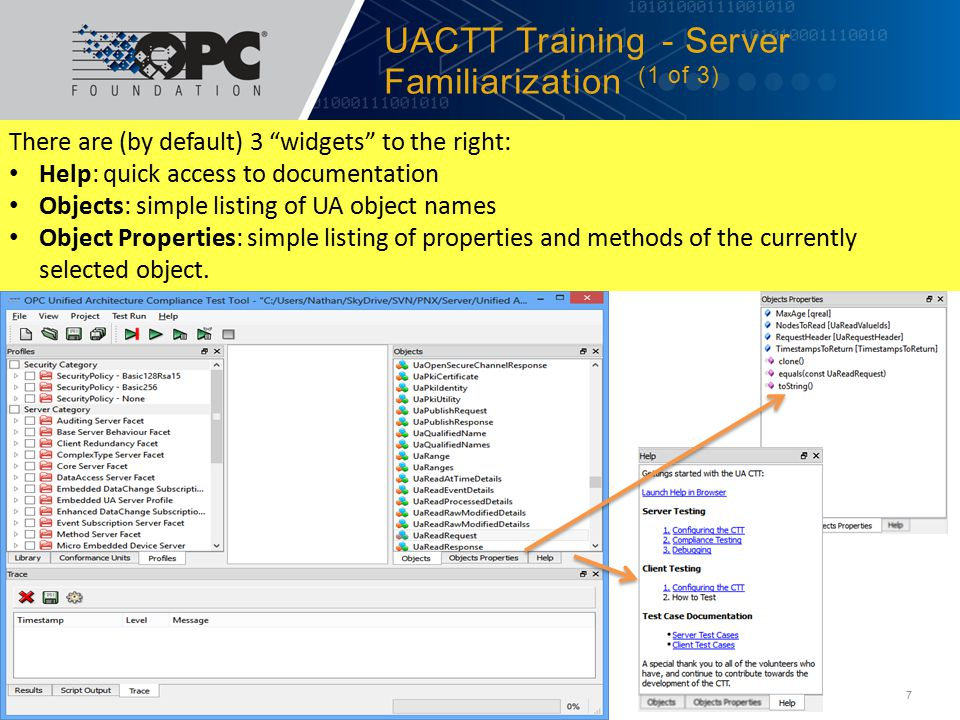 UACTT Training - Server Familiarization (1 of 3)