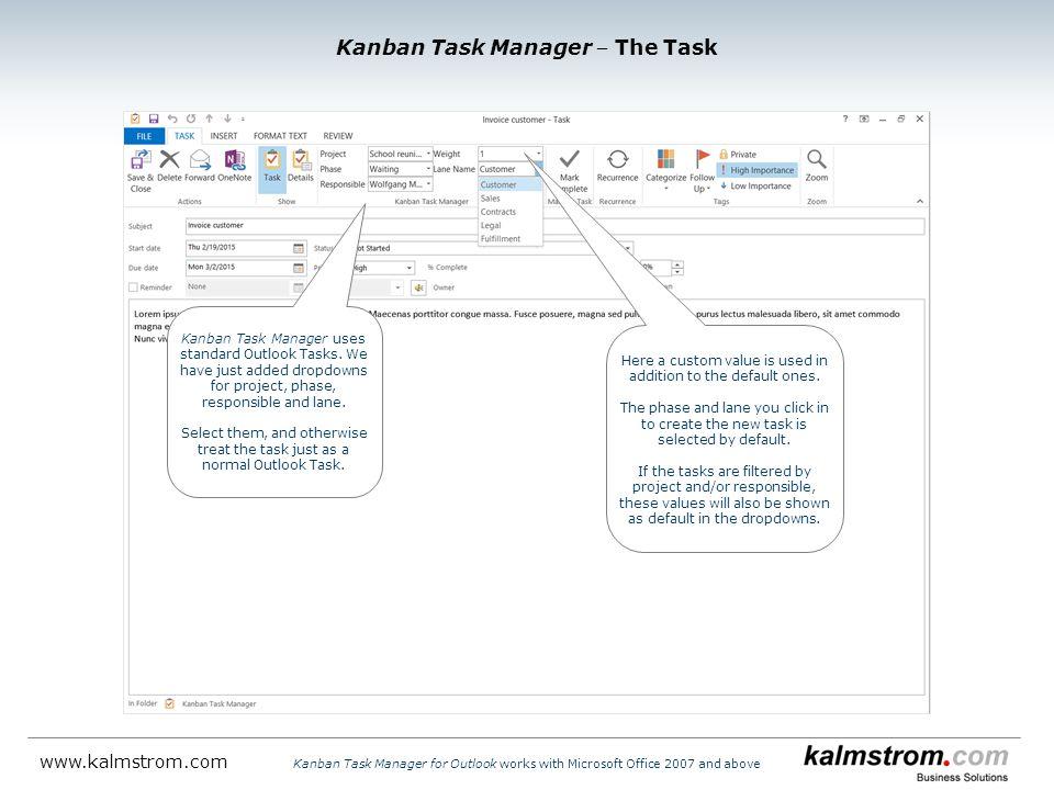 Kanban Task Manager ‒ The Task